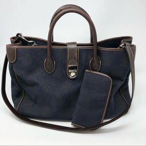 Dooney & Bourke Double Handed Logo Tote Bag